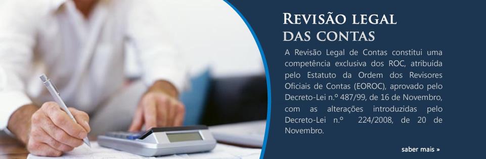 Revisão Legal das Contas